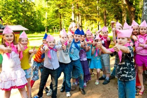 Дети лагерь
