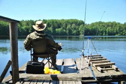 Рыбалка озеро