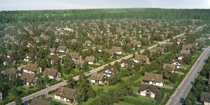 Дачный поселок 3