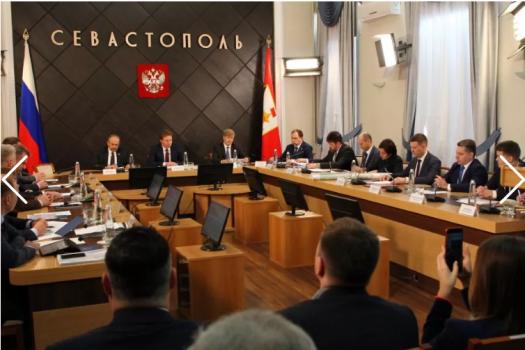 Совещание в Правительстве Севастополя 26 февр