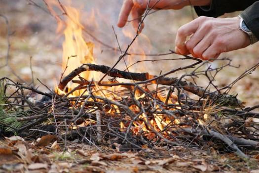 Порядок использования открытого огня