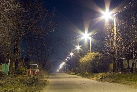 Свет в поселке
