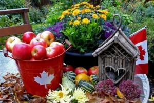 Праздник урожая Канада