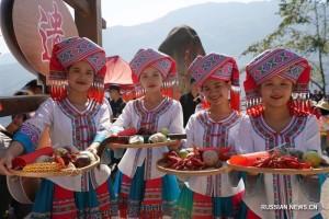 Праздник урожая Китай