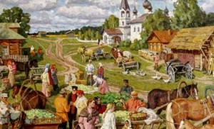 Праздник урожая Россия